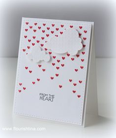 Falling Hearts stencil, Bundle of Stitched Shapes, #SSS FAVE