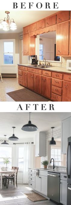 Check out these before and after kitchen remodels and find inspiration for your next kitchen project with ease and style.