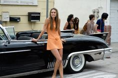 Inherent Vice standout Katherine Waterston will play the mother of Steve Jobs' first child in the Aaron Sorkin biopic, starring Michael Fassbender as Jobs. Owen Wilson, Christian Bale, Steve Jobs, Michael Fassbender, Katherine Waterston, Inherent Vice Movie, Gq, Vintage Crochet Dresses, 70s Costume