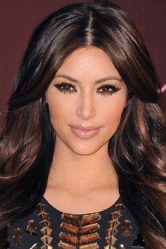 Fine Dark Brown Hair Dip Dyed Carmel Hair Color Pinterest Dark Hairstyle Inspiration Daily Dogsangcom