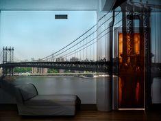 Camera obscurer- Abelardo Morell. View-of-the-Manhattan-Bridge