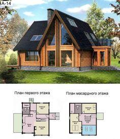 проекты срубов домов фото