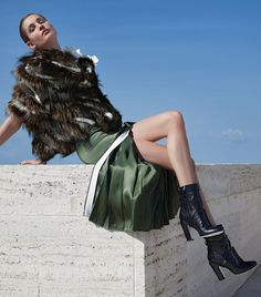 Fendi Fall/Winter 2014-15 Advertising Campaign. For more Fendi fashion, visit http://balharbourshops.com/