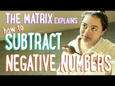 Subtracting Positive and Negative Numbers   The Matrix and Batman   PBSMathClub
