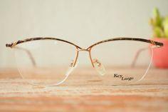 656c8a910659 Vintage Frame Eyeglasses 1980's New Old Stock от hisandhervintage Key  Largo, Vintage Frames, Eyeglasses