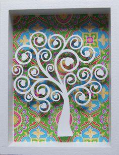 Árbol de la vida con corazones