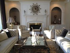 Living Room designed for entertaining your guest
