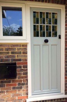 Virtuoso Malton Composite Door In Sage Green Available
