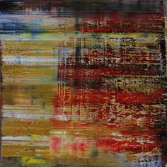 abstract 1070 [Autumn III], Koen Lybaert, oil on canvas, #art #abstract