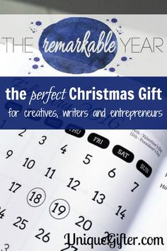 The Perfect Christmas Gift for Creatives, Writers and Entrepreneurs - Plus, you can be done your shopping in June!