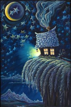 Love this pic! #Magic #Night #House