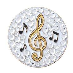 Bonjoc Ladies Music Note Ball Markers