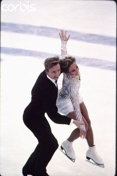 Jayne Torvill and Christopher Dean  - 1994 Olympics.I love watching them skate they were so good together Please check out my website Thanks.  www.photopix.co.nz