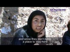 Video of Luz from Huancavelica, Peru talking about her experiences and work with our partner DEMUS