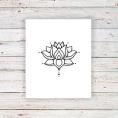 Small lotus temporary tattoo / boho temporary tattoo / boho tattoo / lotus tattoo / lotus fake tattoo / boho gift idea - Small lotus temporary tattoo / Bohemian temporary tattoo / Best Picture For traditional tattoo Fo - Boho Tattoos, Fake Tattoos, Great Tattoos, Trendy Tattoos, Unique Tattoos, Temporary Tattoos, Flower Tattoos, New Tattoos, Small Tattoos