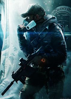 """rahgot: """" The Division agents are trained to operate independently of command, as all else fails. Fighting to prevent the fall of society, the agents will find themselves caught up in an epic. Apocalypse Character, Apocalypse Art, Tom Clancy The Division, Zombie Rpg, Armor Concept, Concept Art, Ghost Soldiers, Division Games, Post Apocalyptic Art"""