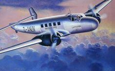 Junkers Ju 86Z-2 Lufthansa by Egbert Friedl