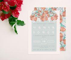 Ana de Sousa- Design & Illustration: O casamento de Vânia e Jorge