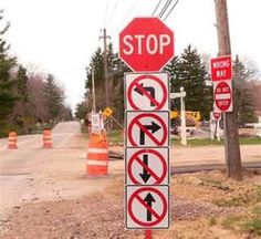Don't say they didn't warn you! | #funny #signs