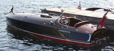 """Greavette boat """"Double Time"""""""