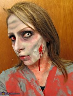 @Lauren Davison Davison Cavallaro just in case we get tired of wearing slutty outfits, we can be zombie nurses. haha