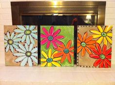 Everything's Coming Up Daisy Paintings