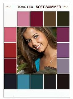 Deep wine, deep teal and navy were all suggested by JK as formal colors. Seasonal palettes are a great start, but it always comes down to cases in the end. Your own specifics will tell you where to focus your color choices.