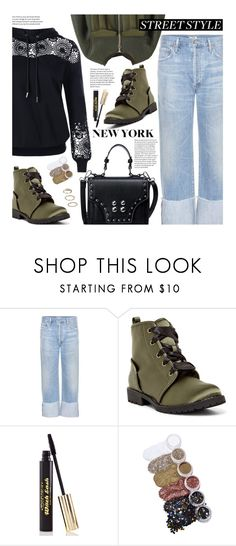 """Snap It: NYFW Street Style"" by beebeely-look ❤ liked on Polyvore featuring Citizens of Humanity, Dirty Laundry, Medusa's Makeup, FromNicLove, StreetStyle, NYFW, lace, sammydress and streetwear"