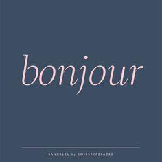 SangBleu Sans | Typefaces, Fonts | Bonjour
