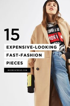 How to find expensive-looking pieces at fast fashion stores