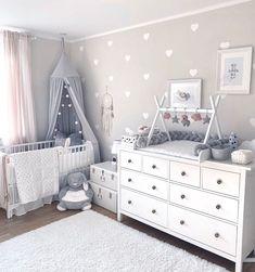 kleinkind zimmer Top Most Amazing Budget Friendly Baby Room Ideas - Wittyduck Baby Nursery Decor, Baby Bedroom, Baby Boy Rooms, Nursery Neutral, Baby Boy Nurseries, Baby Decor, Nursery Room, Girl Nursery, Girl Room