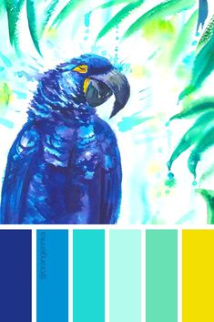 most recent photos summer color palette tropical diy free : What an unbelievable day! COLOURlovers color palette software is bringing you our best picks of color palettes that may take your breath away. Tropical Home Decor, Tropical Colors, Tropical Birds, Tropical Houses, Summer Colors, Tropical Furniture, Tropical Art, Color Schemes Colour Palettes, Colour Pallette