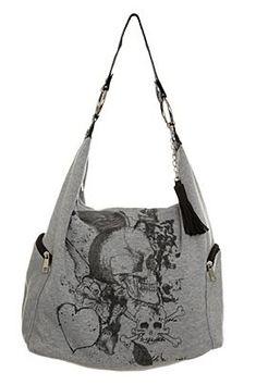 Designer Clothes, Shoes & Bags for Women Skull Purse, Skull Fashion, Moda Fashion, Cute Bags, Hobo Bag, My Bags, Purse Wallet, Purses And Handbags, Grunge