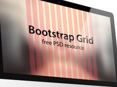 Free Bootstrap PSD Grid by Emiliano Cicero, via Behance