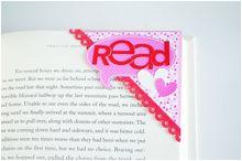 Cute corner bookmarks