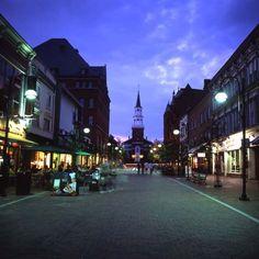Burlington, VT. It's where I left half of my heart, and it's full of inspiration!