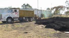Recuperación de lodos de desecho para cultivo. En planta de tratamiento tamaño Mega Aclara. #CuidemosElMedioAmbiente