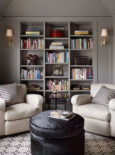74 Super Cozy Master Sitting Room Ideas www.futuristarchi… 74 Super Cozy Master Sitting Room Ideas www. Home Library Design, Room Design, Home Remodeling, Cheap Home Decor, Home Decor, House Interior, Home Office Design, Interior Design, Master Bedrooms Decor