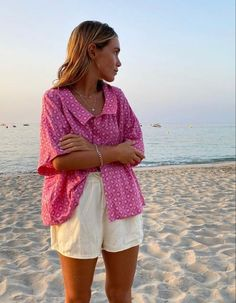Spring Summer Fashion, Spring Outfits, Casual Summer Outfits, Diy Camisa, Mode Inspiration, Mode Style, Summer Looks, Aesthetic Clothes, Dress To Impress