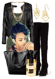 """""""#461"""" by gorgeousmama29 on Polyvore featuring Miss Selfridge, Boohoo, Nly Shoes, Forever 21 and Charlotte Russe"""