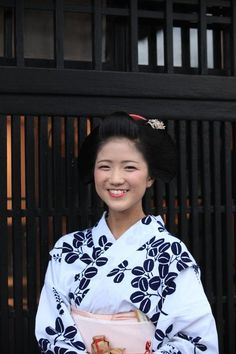 Katsuna - always happy maiko of Kamishichiken district in Kyoto