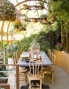 Patio in the garden <3