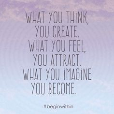 Law of attraction quote, loa affirmation #beginwithin