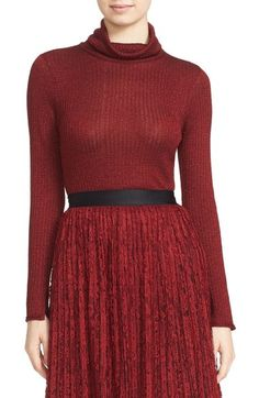 Alice + Olivia Billi Slim Turtleneck Sweater available at #Nordstrom