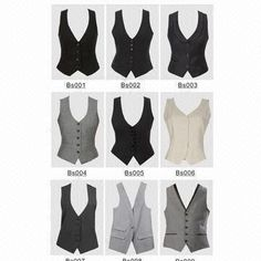 Check out our good selection of Women's Vest including puffer vest, down shirt, quilted vest from top. Vest Outfits For Women, Suits For Women, Clothes For Women, Women Wear, Western Outfits, Mens Vest Pattern, Tomboy Fashion, Fashion Outfits, Suit Vest