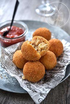 Arancini Ricardo Recipe, Arancini, Italian Recipes, Good Food, Brunch, Appetizers, Cooking Recipes, Dinner, Breakfast