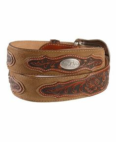 Wild Colt Leather Western Belt