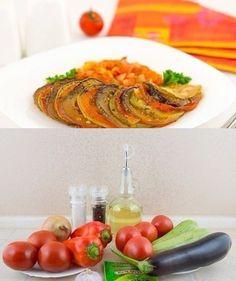 Запеканка из помидоров и картофеля
