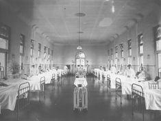 Spanish Flu in Melbourne - exhibition centre St Vincent Hospital, History Of Nursing, Emergency Hospital, Exhibition Building, Nursing Profession, Historic Houses, 24 Years Old, Second World, General Hospital