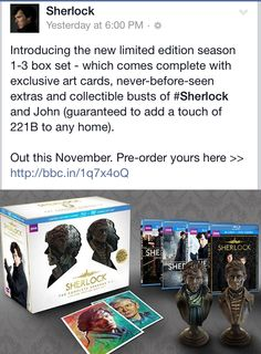This is why I need to win the lottery people. Make it happen. Sherlock Mary, Sherlock Series, Sherlock Holmes, The Empty Hearse, Mrs Hudson, 221b Baker Street, Don't Blink, Geronimo, Still Love You